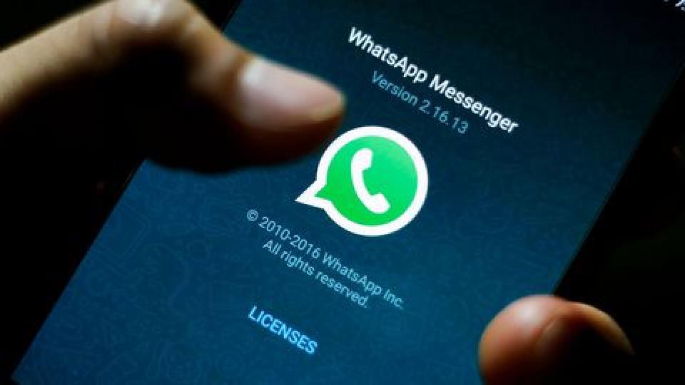 Whatsapp mise à jour