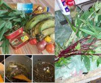 images prises sur Facebook sur la boite de sardine à l'oseille